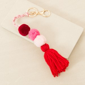 Pom Pom & Tassel Wool Charm
