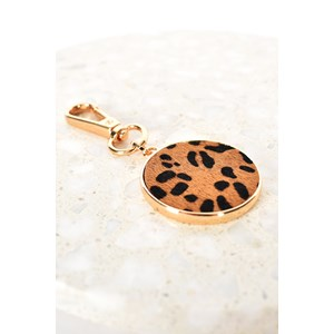 Hide Disc Keyring