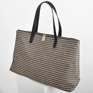 Woven Stripes Weekender Bag