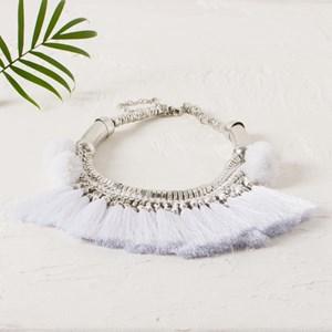 Mozambique Fringe Necklace