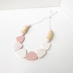 Resin Shape Mix Adjustable Short Necklace