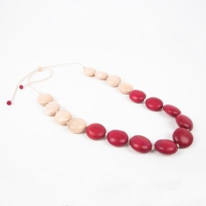 Smooth Knotted Timber Necklace