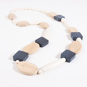 Long Timber Shapes Necklace