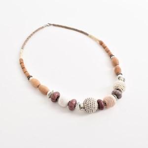 Timber Mix Beads Necklace