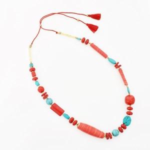 Stone & Bead Mix Necklace
