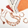 2 Strand Resin Shape on Cord Adjustable Necklace - pr_69426