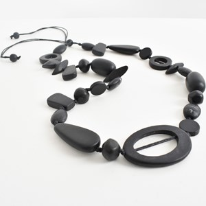 Resin Mix Shapes Necklace