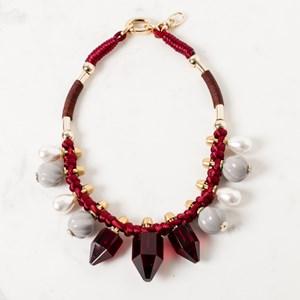 42cm Resin Facet Necklace