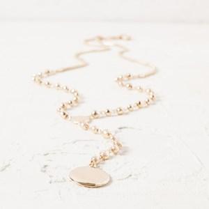 90cm Hand Link Y Drop Necklace