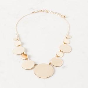 Multi Disk Short Necklace