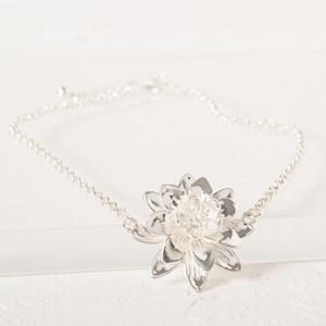 Lotus Flower Short Necklace
