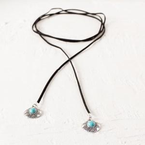 Bohemian Wrap Lariat Necklace