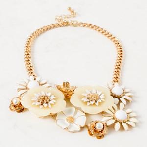 Flowerbomb Short Statement Necklace