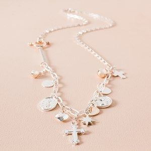 Charms Box Necklace