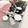 Compass Charms Long Necklace - pr_62500