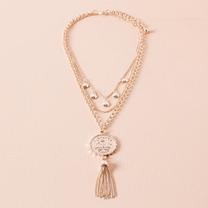 Sixpence Layered Necklace