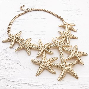 Starfish Moulded Necklace