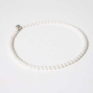 Shell Pearl 6mm Round 42cm Necklace