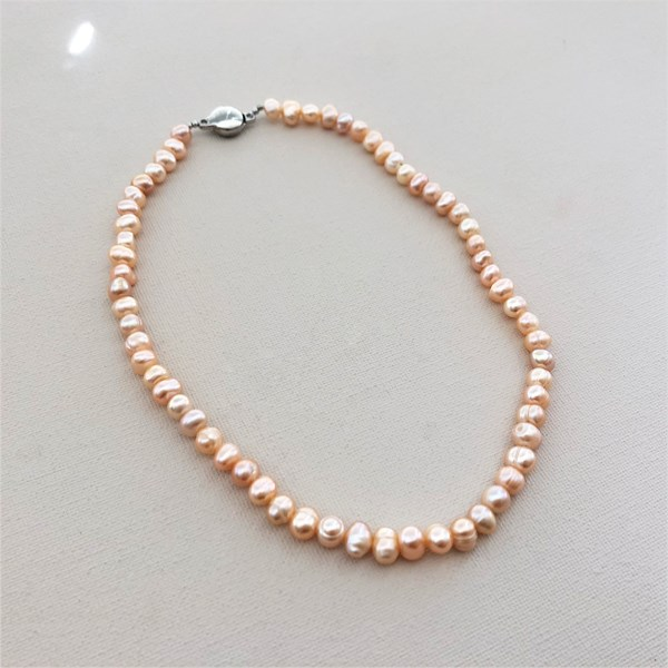 Freshwater Pearl 8mm 43cm Necklace