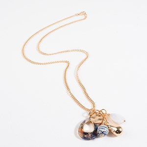 Cluster Mix Long Necklace