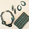 Aria Linked Resin Short Necklace - pr_62058