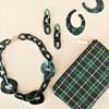 Aria Linked Resin Short Necklace - pr_62067