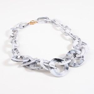 Eliza Resin Circles Short Necklace