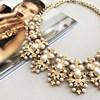 Metal Pearl Elaborate Necklace - pr_62785