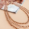 Pretty Layered Bead Ball Necklace - pr_60956