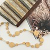 Smooth Timber Metal Rods Necklace - pr_63493