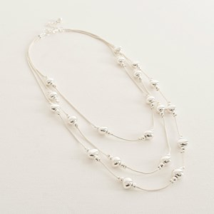 Bead Intervals Short Necklace