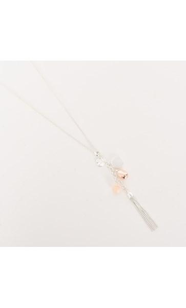 Long Tassel Cluster Necklace