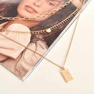 ZaZa Charm Layered Necklace