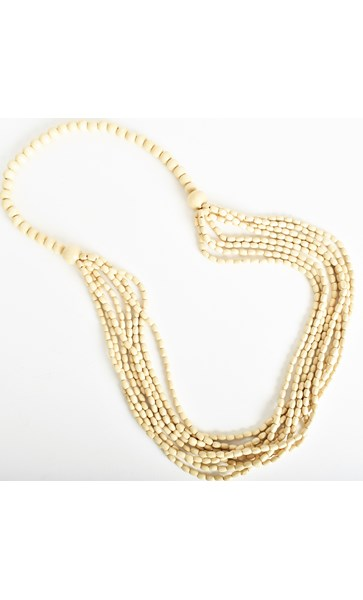 Light Weight Layered Timber Necklace