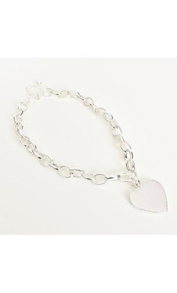 Heart Pendant Chain Necklace