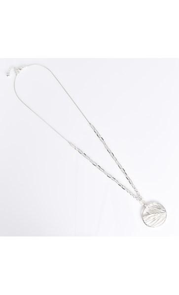 Palm Pendant Graduated Chain Necklace