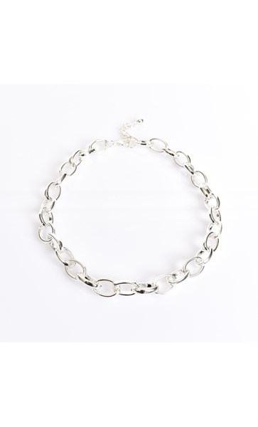 Rounded Link Chain Necklace