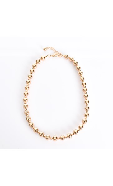 Interval Small Ball Necklace