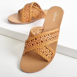 Wategos Woven Cross Over Slide Size 39