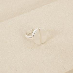 Two Half Circle Ring