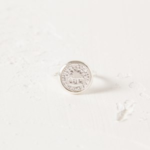 SZ 7 Coin Fine Band Ring