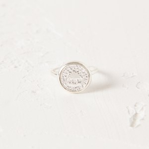 SZ 9 Coin Fine Band Ring