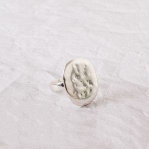 Textured Pebble Ring