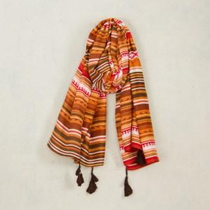 Aztec Tribe Stripes Scarf