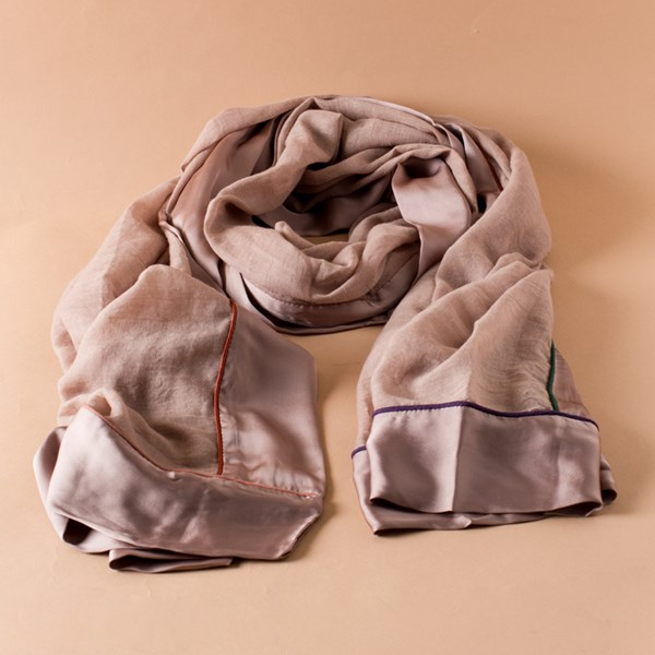 Satin Edge Lounge Scarf