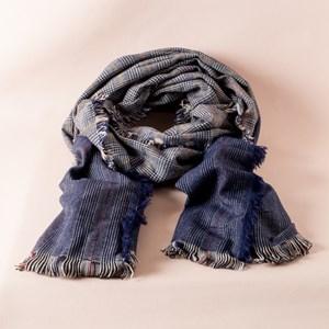 Tweed Fringe Edge Scarf