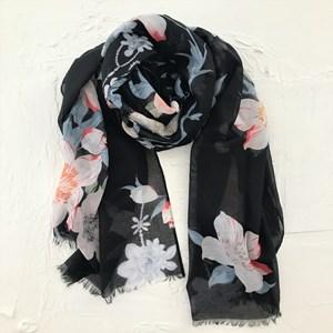 Watercolour Floral Print Scarves