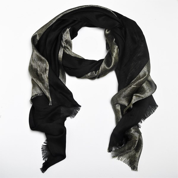 Lurex Thread Evening Scarf
