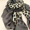 Silk Bordered Leopard Scarf - pr_61840