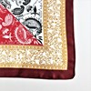 Roma Tile & Paisley Mix Faux Silk Square Scarf - pr_62945